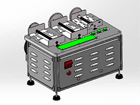 阿兰德非标机器螺杆测试机 zdjb2005 solidworks 3D图纸 三维模型