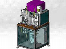 非标自动检测设备 zdjb2006 solidworks 3D图纸 三维模型