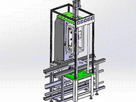 扭矩检测机 zdjb2008 solidworks 3D图纸 三维模型