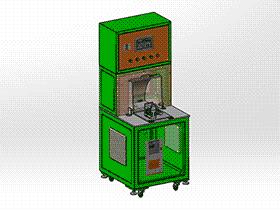 压缩机电机热保护器检测设备 zdjb2009 solidworks 3D图纸 三维模型