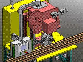 自动组装视觉检测设备 ZDJE1003 solidworks  3D图纸 三维模型