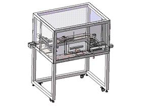 CCD自动检测机 ZDJE1004 solidworks  3D图纸 三维模型
