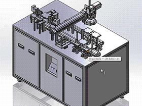 视觉检测机 ZDJE1005 solidworks  3D图纸 三维模型