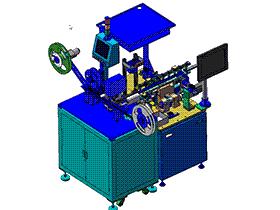 CCD检测自动包装 ZDJE1006 solidworks  3D图纸 三维模型