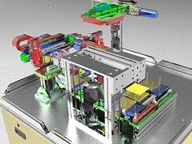 FPC自动视觉检测机(柔性线路板) ZDJE1008 solidworks  3D图纸 三维模型