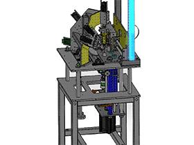 气密性试验检测设备 带工程图 ZDJL1002 solidworks  3D图纸 三维模型
