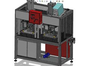 泄漏检测试机 ZDJL1003 solidworks  3D图纸 三维模型