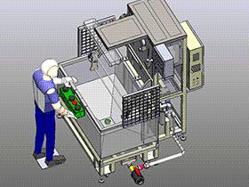 泄露测试油箱 ZDJL1006 solidworks  3D图纸 三维模型