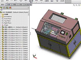 自动卷线机 ZDRB1004 solidworks  3D图纸 三维模型