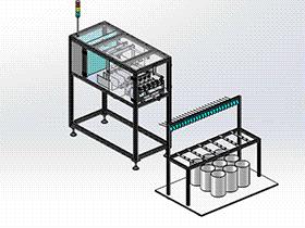 扭线机设备 ZDRB1006 solidworks  3D图纸 三维模型