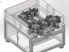 全自动穿线机 K22 ZDRC1002 solidworks  3D图纸 三维模型