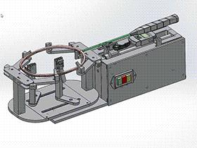 羽毛球拍穿线机 K22 ZDRC2001 solidworks  3D图纸 三维模型