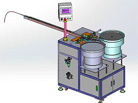 跳绳圈穿线机 K22 ZDRC2002 solidworks  3D图纸 三维模型