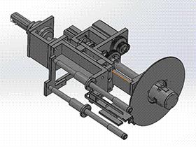 自动卷绕机构 ZDRE1002 solidworks  3D图纸 三维模型