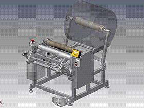 复卷机 ZDRE1005 solidworks  3D图纸 三维模型