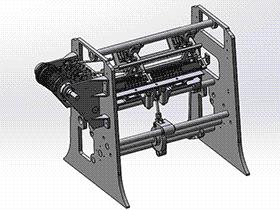 经纬自动编织机针织机 ZDRF1001 solidworks 3D图纸 三维模型