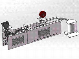 创新型鞭炮编织机 ZDRF2001 solidworks 3D图纸 三维模型
