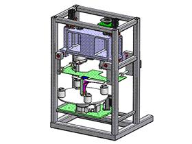 全自动绕线机 ZDRG1001 solidworks 3D图纸 三维模型