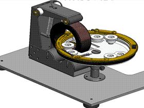 变压器线圈缠绕机 ZDRG2001 solidworks 3D图纸 三维模型