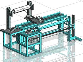 zdrj1003_纤维缠绕机 solidworks 3D图纸 三维模型