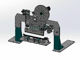 zdrj1004_自动化缠绕机构 solidworks 3D图纸 三维模型