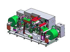zdrj1005_自动收放料卷压系统卷压机缠绕机 solidworks 3D图纸 三维模型