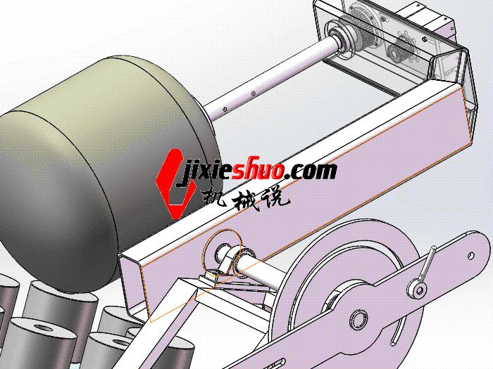 自动缠绕机 zdrj2005 solidworks格式 3D图纸 三维模型