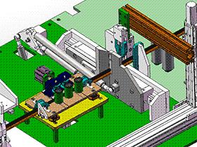 全自动绕线双捆扎机 zdrk2001 solidworks 3D图纸 三维模型