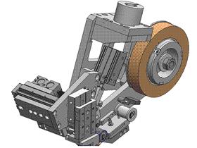 自动贴胶带机构3D图 H421 机械设计参考资料设计素材 ZDTB2001