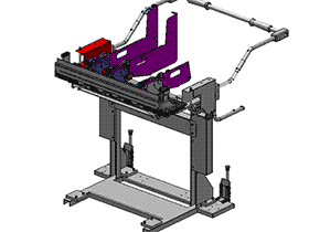 Juki2050贴片机进料飞达3D图纸 G610 机械设计参考资料设计素材 ZDTB2004