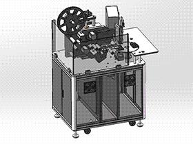 高速转盘式贴标机 ZDTB2015 solidworks 3D图纸 三维模型