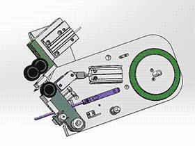 贴高温胶带工作头 ZDTB2041 solidworks格式 3D图纸 三维模型