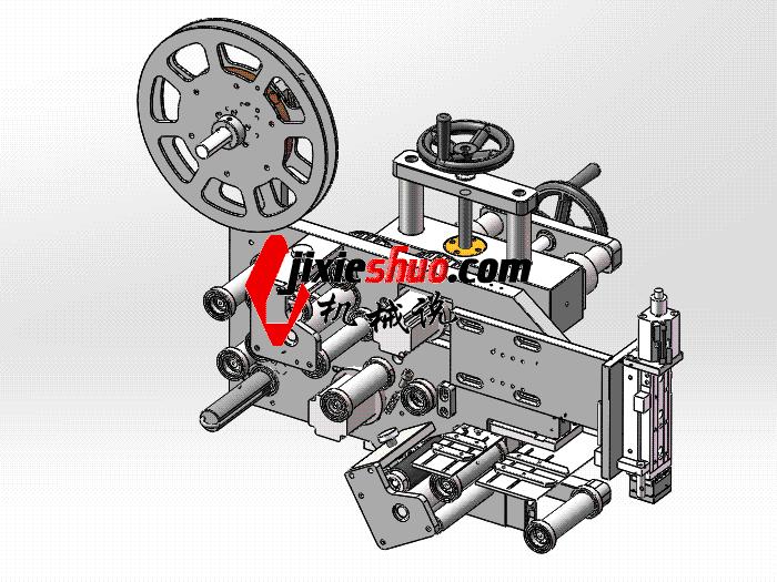 详细贴标机机构 ZDTB2042 solidworks格式 3D图纸 三维模型