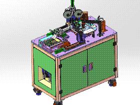 自动撕膜贴膜设备 ZDTB2043 solidworks格式 3D图纸 三维模型