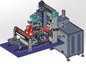 自动对位高精度真空贴合机TP生产设备硬对硬贴合,附带BOM ZDTG1008 solidworks 3D图纸 三维模型