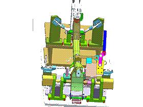 方管焊接 3D模型 ZDWC1002 solidworks  3D图纸 三维模型
