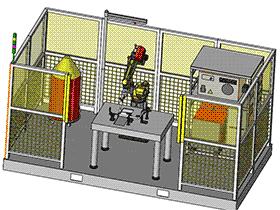 管子与平接头焊接工作站 ZDWC1004 solidworks  3D图纸 三维模型