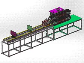 不锈钢管焊接机 ZDWC2001 solidworks  3D图纸 三维模型