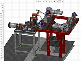 焊接管架焊接机 ZDWC3001 solidworks  3D图纸 三维模型