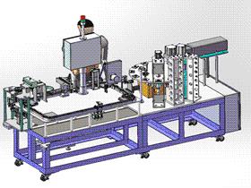 电子元件自动焊接机 ZDWE1002 solidworks  3D图纸 三维模型