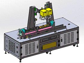 zdwe1009_手机内部结构焊接机 solidworks 3D图纸 三维模型
