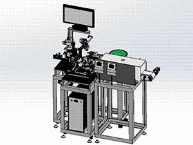 zdwe1011_自动装配焊接加热非标机器 solidworks 3D图纸 三维模型