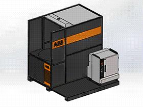 zdwi1005_数控控制机器人焊接机床 solidworks 3D图纸 三维模型