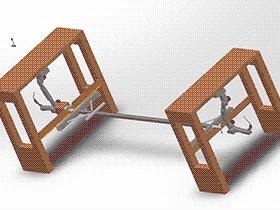 龙门机器人焊接工作站 zdwi1018 通用格式 3D图纸 三维模型
