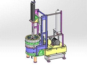 大径管内部焊接机 zdwm1001 solidworks 3D图纸 三维模型
