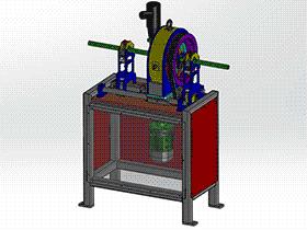圆轴焊接机 zdwm1002 solidworks 3D图纸 三维模型