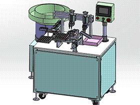 弹性薄板自动焊接机 zdwm1003 solidworks 3D图纸 三维模型
