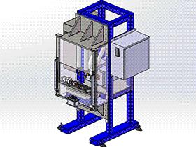 焊接机 zdwm1005 solidworks 3D图纸 三维模型