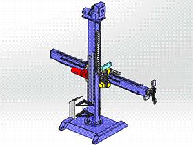 焊接操作机 zdwm1006 solidworks 3D图纸 三维模型