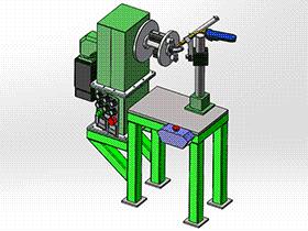 弯头旋转焊接机 zdwm1007 solidworks 3D图纸 三维模型